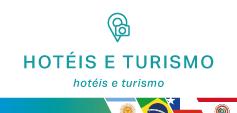Hotéis e turismo.